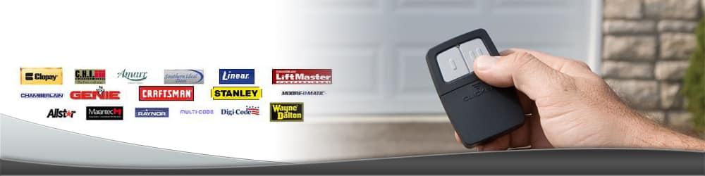 garage door remotes & clickers