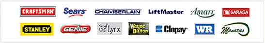 garage door brands logos